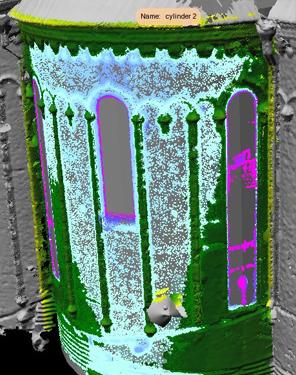 Лазерное сканирование. Исследование деформации.