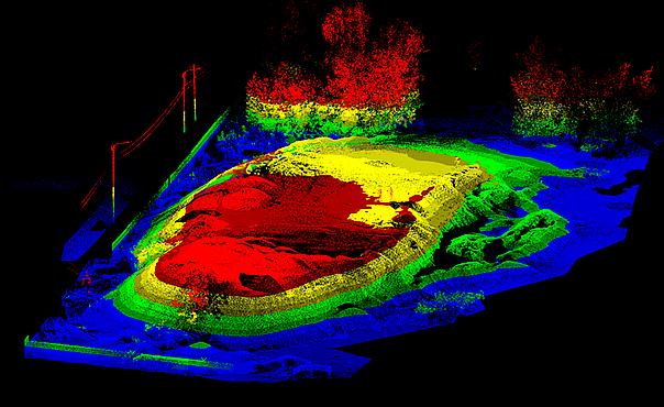 Лазерное сканирование в действии